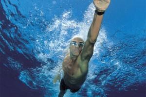 david meca swimming