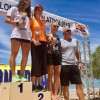 Athens Triathlon Team Podium Sweep