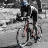 Triathlon Coach cycling in Kalamata