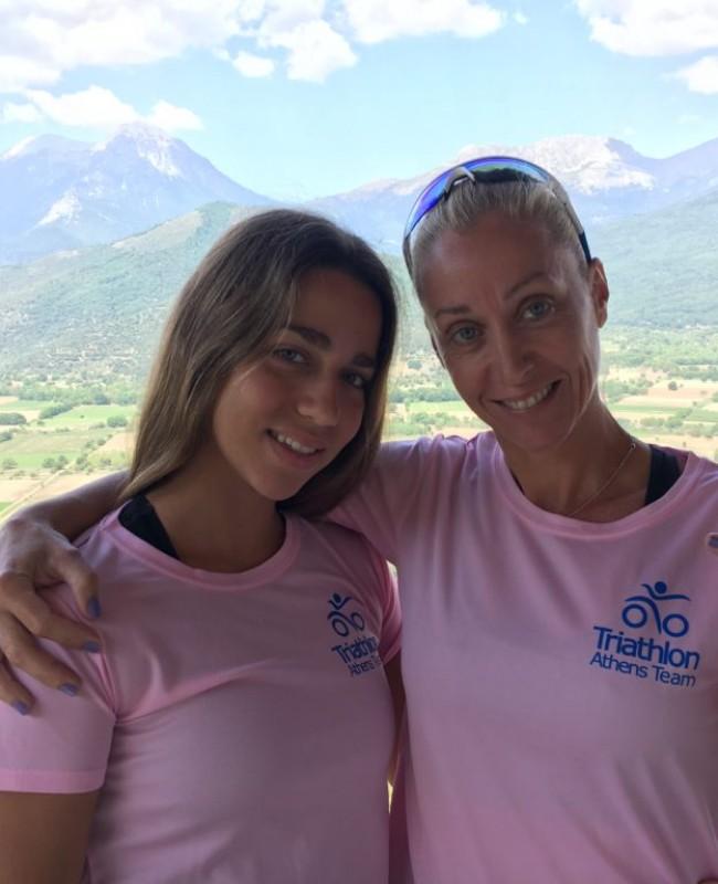 Greta & Athina Total Triathletes