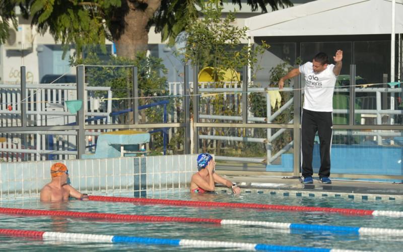"""Προπόνηση Κολύμβησης για Τριαθλητές : """"Μείνε μακριά από τον άξονα"""""""