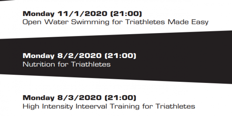 Triathlon Webinars 2021