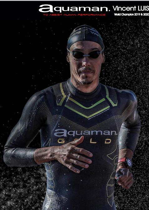 Aquaman wetsuits Vincent Luis