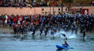 Imagen De La Garmin Barcelona Triathlon 2011