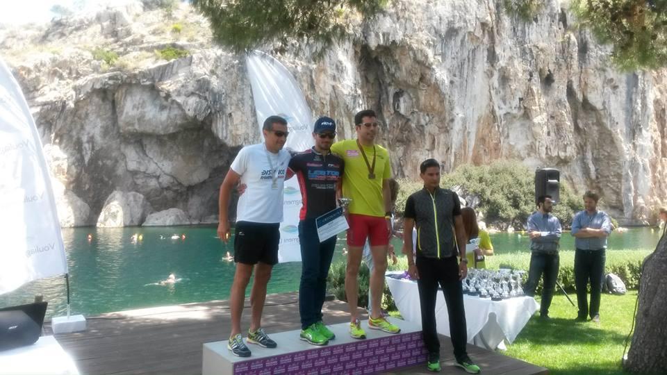 Triathlon of Vouliagmeni 2014 Male Sprint