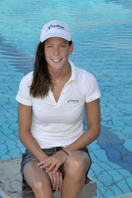 European Swimming Championships 5kms Time Trial Female