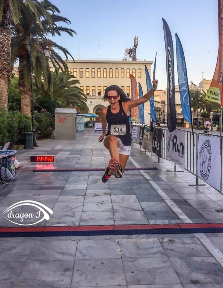Triathlete Amaryllis van der Wilt
