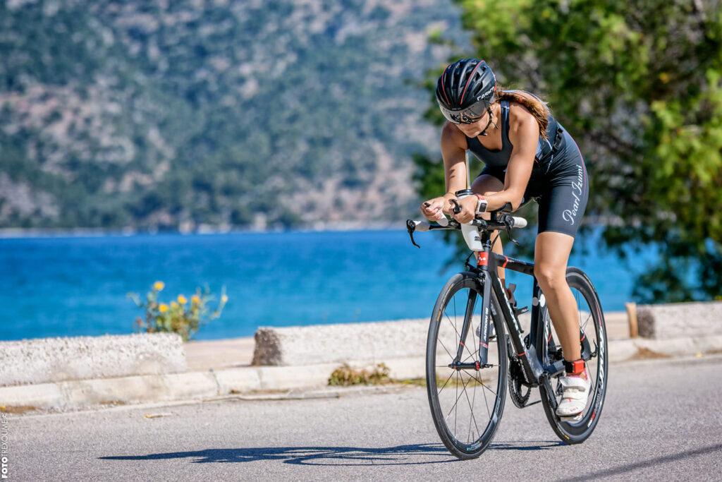 Triathlete Katerina Papaioannou
