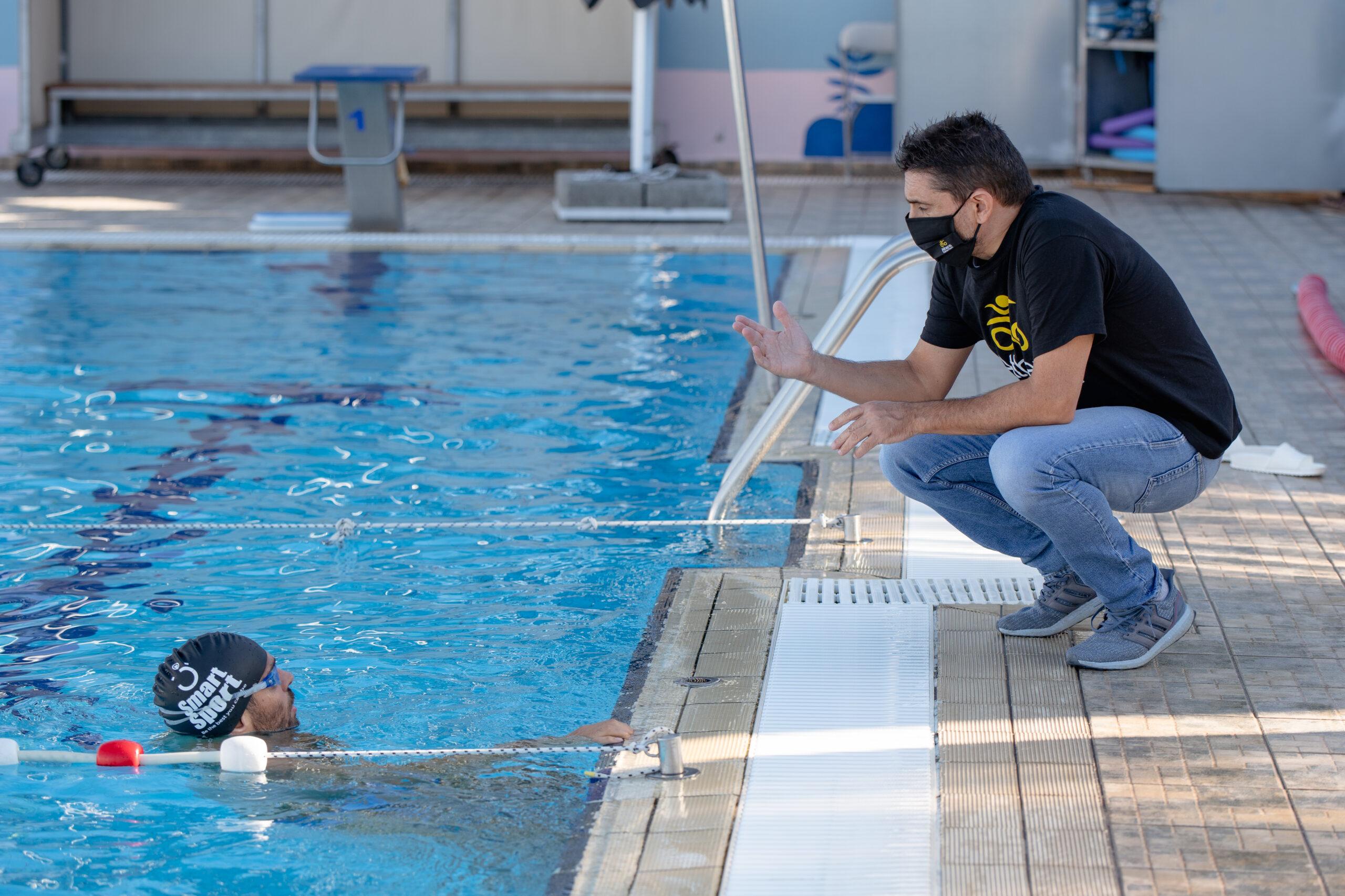 To Δημοτικό κολυμβητήριο Αλίμου επέλεξε η Athens Triathlon Team για την προετοιμασία της για το 2021.