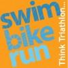 Αυτό είναι το  άθλημα του Τρίαθλου (κολύμβηση, ποδηλασία, τρέξιμο)