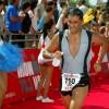 Αγώνες Τριάθλου 1994: Ο Ψαρέλης νικητής εχθές στον αγώνα sprint στον  Σχοινιά.