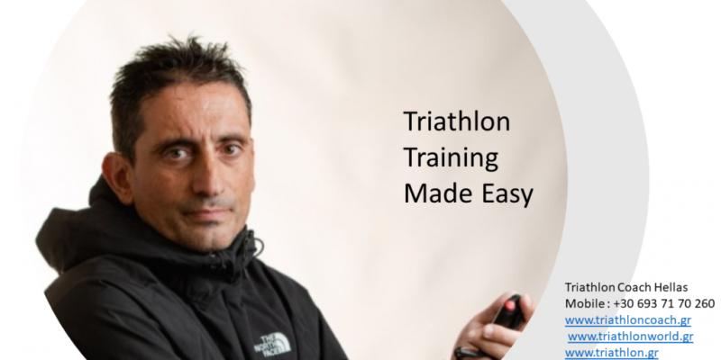 Triathlon training made easy