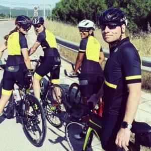 Athens Triathlon Team Cycling